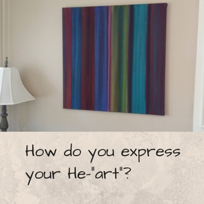How do you express your heart