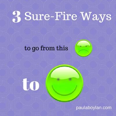 3 ways to be Happy Now